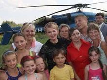 Тимошенко пообещала перевести всех студентов из пострадавших семей на бюджет