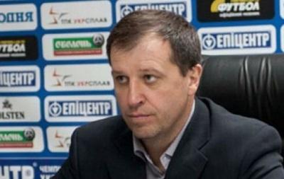 Тренер Зари: Не ожидал, что в Киеве нас будут так хорошо поддерживать