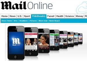 Сайт газеты The Daily Mail впервые вышел на прибыль