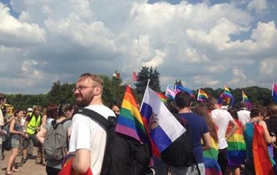 В центре Санкт-Петербурга без происшествий прошел гей-прайд