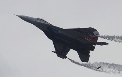 Российский истребитель МиГ-29 разбился под Астраханью