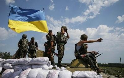 За сутки в зоне АТО погиб один военный, 35 ранены