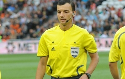 Украинские арбитры получили назначение на матчи Лиги чемпионов