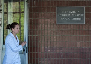 Больницу, в которой лечится Тимошенко, украсили к Новому году