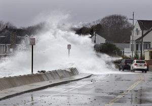 Ураган Сэнди: скорость ветра начинает ослабевать