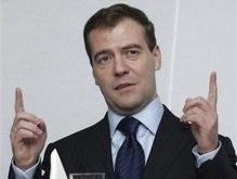 Медведев отчитался о своем первом визите в Европу