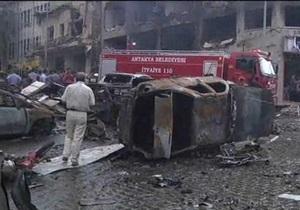 На турецко-сирийской границе прогремела серия  взрывов