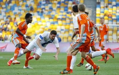Днепр не смог победить Копенгаген в дебютном матче Лиги чемпионов