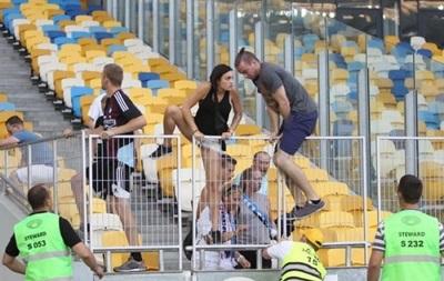 Фанаты Копенгагена не пострадали во время инцидента на НСК Олимпийский