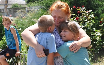 Переселенцы из Донбасса: Не вернемся в  этот ад  до окончания боевых действий