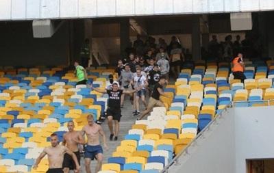 За инцидент на НСК Олимпийский наказание понесет только Днепр