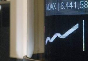 Украинские рынки закрылись резким снижением