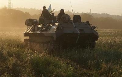 Карта боевых действий на Донбассе за 2 августа