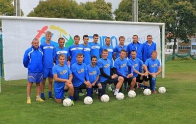 Паралимпийская сборная Украины по футболу выиграла чемпионат Европы