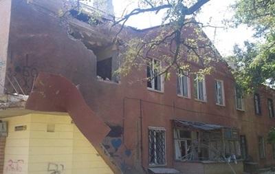 В пригороде Горловки от артобстрела пострадали около 10 домов
