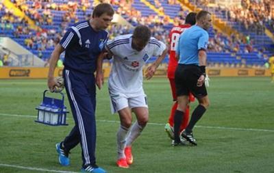 Два игрока Динамо получили травмы в матче с Металлистом