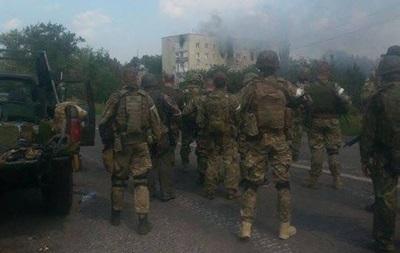 Силы АТО не входили в Донецк – СНБО
