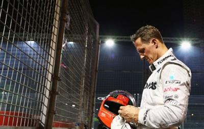 Mercedes не хочет разрывать контракт с Михаэлем Шумахером