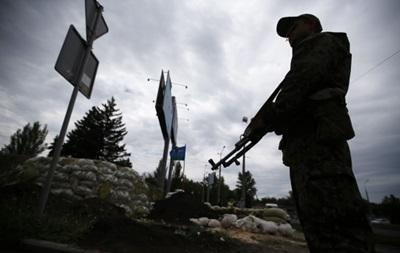 Силовики сообщают, что около Свердловска и Горловки сепаратисты наращивают силы