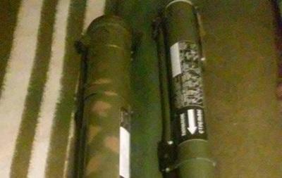 Сотрудники СБУ обнаружили склад оружия под Дебальцево