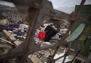 Количество жертв землетрясения в Китае достигло 1,3 тысяч человек (обновлено)
