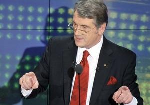 Ющенко не поддержит ни одного из кандидатов во втором туре выборов