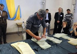 Медленнее всего считают голоса в столице, Киевской, Черкасской и Кировоградской областях