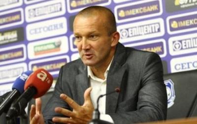 Тренер Черноморца: Сейчас плохое настроение, мы вылетели из Лиги Европы