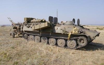 Сепаратисты сообщают о захвате около 70 единиц военной техники силовиков