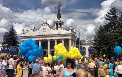 В Харькове повздорили сторонники и противники Кернеса
