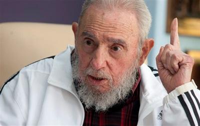 Фидель Кастро подписал заявление в поддержку Палестины