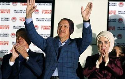Эрдоган победил на выборах президента Турции