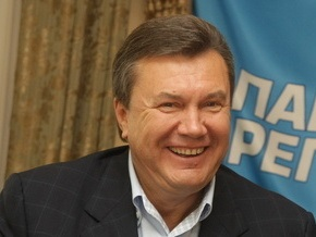 Янукович готовится стать дедушкой в третий раз