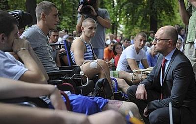 Участие в АТО приняли около 50 тысяч военных – Яценюк