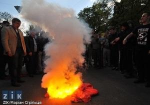 В Москве считают неуместным сравнение событий во Львове с беспорядками на Манежной площади