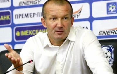 Тренер Черноморца посоветовал футболистам опуститься на землю