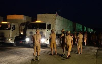 Гуманитарный конвой въедет в Украину в оговоренной точке - Песков