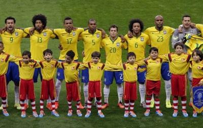 Сборная Украины не сыграет с Бразилией