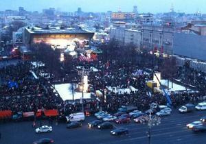 На Пушкинской площади в Москве начался митинг оппозиции. Власти усилили меры безопасности