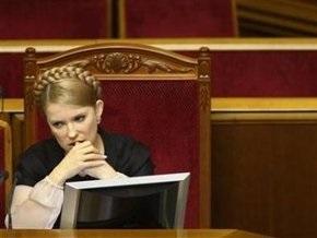 Тимошенко не пришла ни на СНБО, ни в Раду