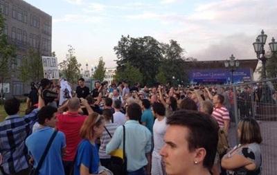 На митинг в поддержку Украины вышло полсотни москвичей - СМИ
