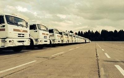 Российский гуманитарный конвой разделился на две части — экс-глава СБУ