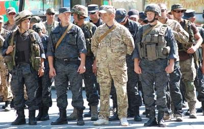 В зону АТО отправился первый батальон резервистов Нацгвардии