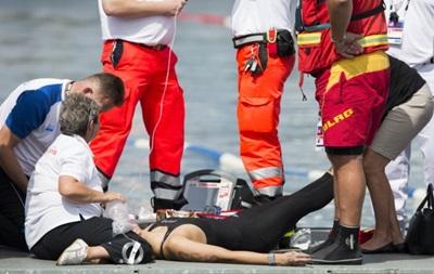 Спортсменка потеряла сознание во время заплыва на чемпионате Европы