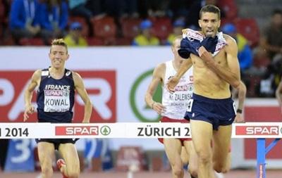 Из-за финиша с голым торсом легкоатлета лишили золота чемпионата Европы