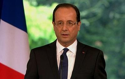 Россия должна взять обязательство уважать территориальную целостность Украины - Олланд