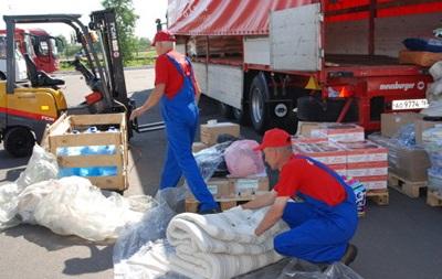 Красный Крест принял украинскую гуманитарную помощь в полном объеме