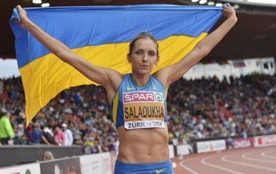 Саладуха выиграла для Украины второе золото на ЧЕ по легкой атлетике