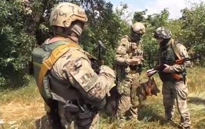 Военные показали, как работает разведка близ Луганска