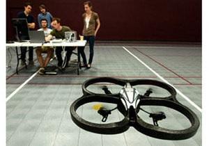 Новости науки: Американские студенты создали вертолет, управляемый активностью мозга